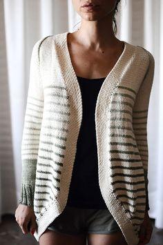"""Incredible Custom-Fit Raglan"" pattern by Pamela Costello knit by rililie on Ravelry"