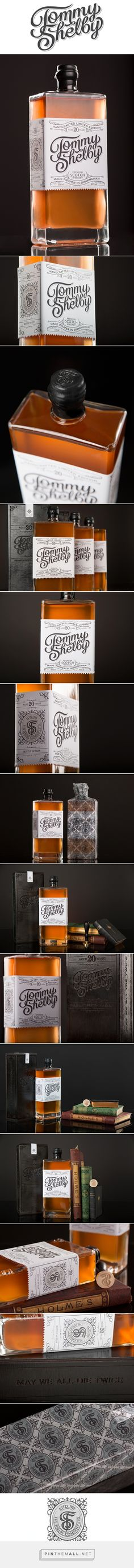 Tommy Shelby Whiskey - Student project Designed by Scott Biersack