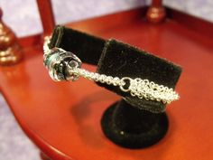 OOAK Sterling Silver Micromaille Chainmaille Bracelet by SilverTabbyStudios, $200.00
