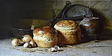 Still LIfe With Bread - oil, canvas