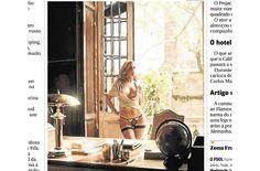 Secretária de Mujica em poses sexy agora para a br Status | foto no Ancelmo - Blue Bus