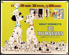 All about One Hundred and One Dalmatians (Disney, 1961) -- including movie trivia!
