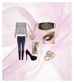 Smart Casual by slaakie on Polyvore featuring polyvore мода style New Look J Brand Nly Shoes Bloomingdale's Chanel Dolce&Gabbana fashion clothing