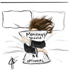 Today has been cancelled, go back to bed. Girl Cartoon, Cartoon Art, Good Morning Funny, Girly Drawings, Monday Humor, Copic Art, Drawings Of Friends, Black Girl Art, Girl Sketch
