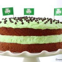 Chocolate cake with mint buttercream recipe — Roxanas Home Baking