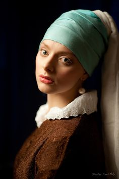 Photo: Girl with a Pearl Earring