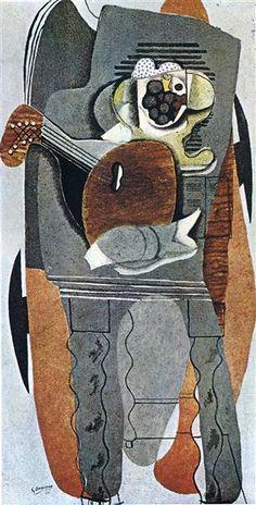 Mesa gris, 1930 - Georges Braque. Cubismo Sintético