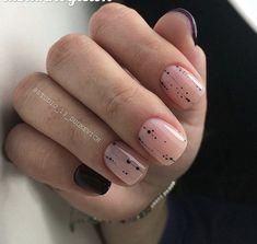 25 stunning minimalist nail art ideas to try 00020 Manicure Y Pedicure, Shellac Nails, Nail Polish, Acrylic Nails, Stylish Nails, Trendy Nails, Neutral Nails, Minimalist Nails, Super Nails