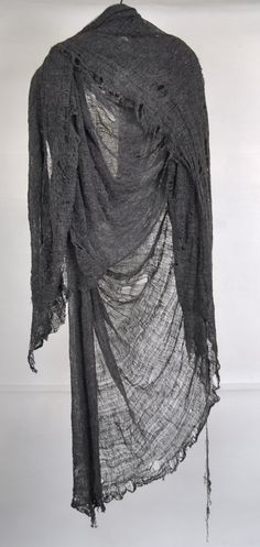 Draped Distressing #style #scarf #shawl