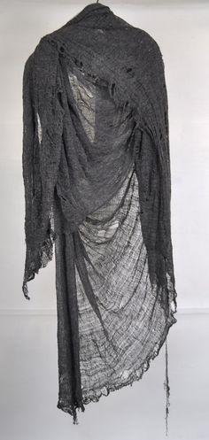 Draped Distressing #style #scarf #shawl