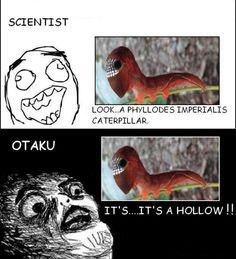 Scientist vs Otaku