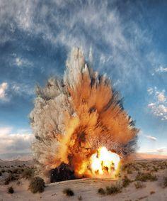 Ueli Alder: Detonations http://www.alderego.ch/    #VFX #FX #FxReference