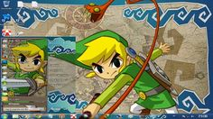 This page  about Free Download themes windows // Tema //7 //seven// 肌//テーマ//画題//窓//ウィンドウ//七つ//skin// The Legend Of Zelda // Theme Anime, 7 Seven, Legend Of Zelda, Comic Books, Windows, Comics, Free, The Legend Of Zelda, Cartoons