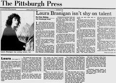 1984, Laura isn't shy of talent