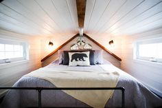 Bedroom Loft - Modern Take Two by Liberation Tiny Homes