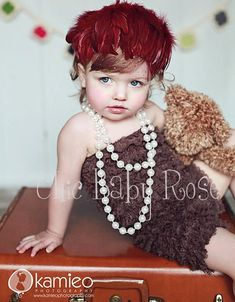 The Original Toddler Petti Romper in 21 colors by Chic Baby Rose Great Photography Prop
