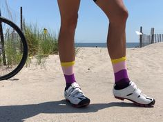 Photography by (IG) Athletic Socks Cycling Socks Running Socks Cycling Kits Sock Subscription, Running Socks, Athletic Socks, Cycling Outfit, Sexy Legs, Lifestyle, Photography, Fashion, Moda