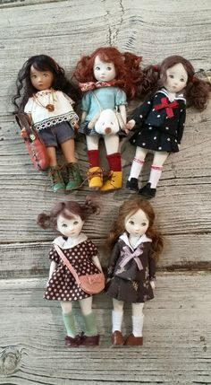 Dolls by Sun Joo Dee