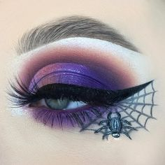 - brow-lebrity in taupe and medium brown - midnight chaos palette & thats the point liner - chaos lashes Halloween Eye Makeup, Halloween Eyes, Brows, Lashes, Bh Cosmetics, Eye Art, Pink Lemonade, Looking Up, Make Up