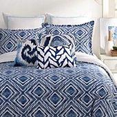 "Trina Turk Silver Lake Herringbone Decorative Pillow, 12"" x 18"""