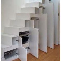 Neat storage under stairs Decorativehomeinterior.com