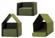 tent-sofa - super duper cool idea!  Leave it to the Europeans to create this for the kiddos.