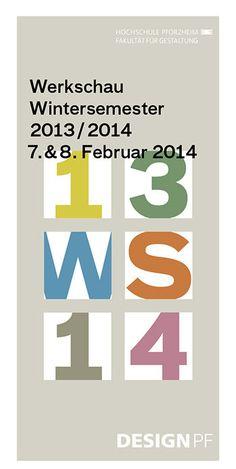 Werkschau der Fakultät für Gestaltung HS Pforzheim | Slanted - Typo Weblog und Magazin