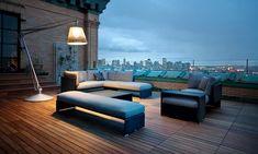 Lounge-Möbel für draußen - [SCHÖNER WOHNEN]
