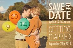 Save the date engagement