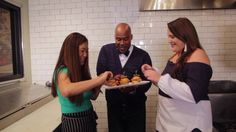 Chef Uno and Caroline Kraddick Make Fried Fish Sliders for National Tartar Day! Homemade Tartar Sauce, O Fish, Radio Personality, Celebrity Chef, Fried Fish, Special Guest, Sliders, Food Videos, Tasty