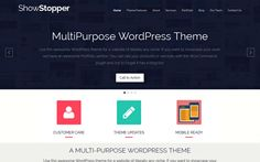 Wordpress Theme: ShowStopper