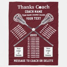 All Player's Names Lacrosse Coach Gift Ideas Fleece Blanket lacrosse goalie, lacrosse players, lacrosse party #6 #lacrossegame #lacrosseunlimited, dried orange slices, yule decorations, scandinavian christmas Lacrosse Quotes, Name Logo, Coach Gifts, Edge Stitch, Team Names, Football Decor, Blanket, Gift Ideas