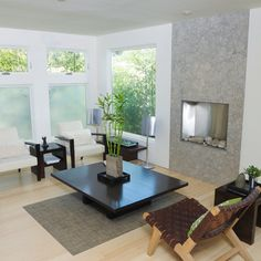 """Conceal by planting: ideal if the window faces south and you need some """"green"""" shade."""