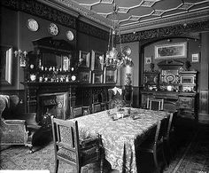 12 Portland Place (c) English Heritage.NMR Reference Number: BL12016 Interior view in the dining room