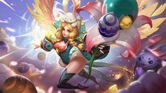 Rafaela Flower Fairy by makinig Holy Priest, Tank Wallpaper, White Crane, Mobile Legend Wallpaper, Fantasy Images, Mobile Legends, Slumber Parties, Game Character, User Profile