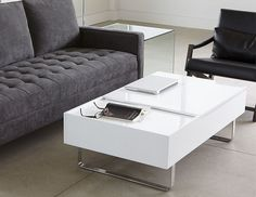 "Structube - Miami Sofa ($1099) Width 80""x Depth 36"", and Evo Coffee Table W 47"" x D 27,5"" x H 15.5"" ($649)"