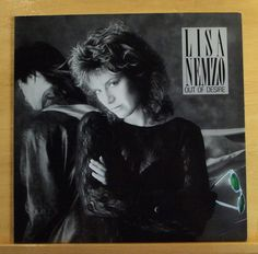 LISA NEMZO Out of Desire Vinyl LP - Jealousy Walking on Ice Addicted to you RARE