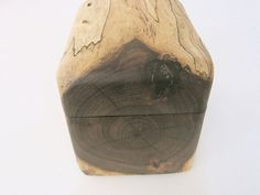 I discovered this carved box on etsy, so beautiful.     Spalted Walnut Keepsake Jewelry Box or Pet Urn by 2woodhunters, $36.00