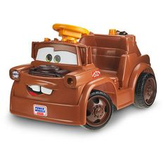 """Power Wheels Fisher-Price Ride On - Disney Pixar Cars 2 - Lil Mater - Power Wheels - Toys """"R"""" Us"""