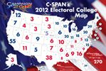 Electoral College Map, provided to members of C-SPAN in the Classroom