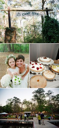 Destination Wedding Spot > Your Childhood Summer Camp