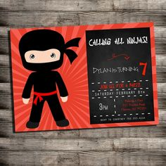 Related Image Karate Birthday Party Ninja Parties Free Printable Invitations Templates