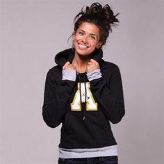 omg, super cute appalachian hoodie. Need a new one. Hint hint :)