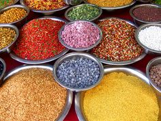 Wonderful, colorful spices