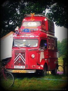 Mostly H van Citroen Van, Citroen Type H, Vintage Food, Vintage Recipes, Engine Working, Food Trucks, Amazing Cars, Fiat, Camper