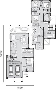 Standard floorplan for The Perin