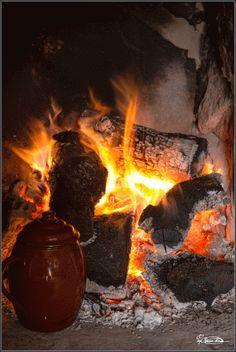 Imagen por Pepi Roncero: Disfrutar las tardes de invierno delante del fuego y tomando ese café tan rico hecho en el puchero como lo hacían nuestros abuelos