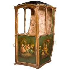 Mid-19th Century French Sedan Chair   From a unique collection of antique and modern chairs at…