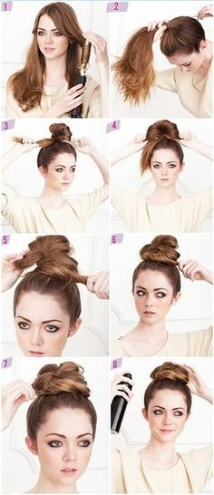 Swell Different Types Of Braided Buns And Girls On Pinterest Short Hairstyles Gunalazisus