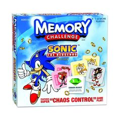 MEMORY® CHALLENGE: Sonic the Hedgehog® Edition